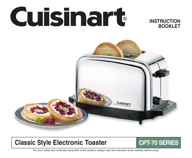 Long bread toaster slices for features