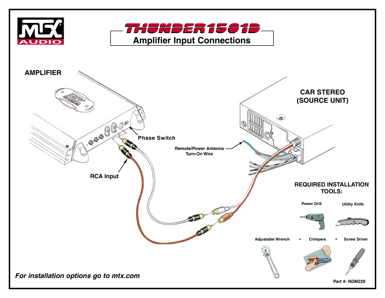 Car Audio Installation Guide on car subwoofer wire wiring diagram