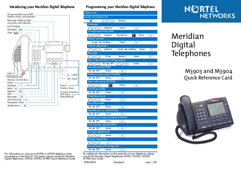 Nortel callpilot user guide pdf