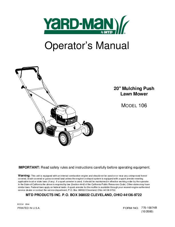 Lawn Mower Mulching Kits @ Mowers Direct.com - Lawnmower Mulching