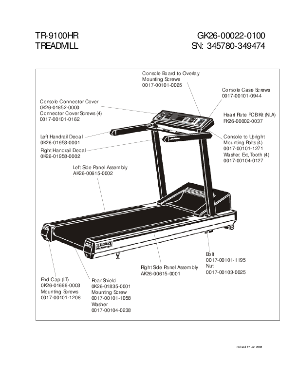 horizon ct 9.3 treadmill manual