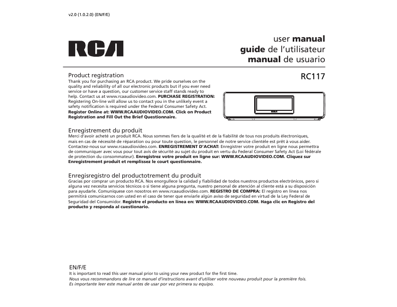rca rp5605 a user manual product user guide instruction u2022 rh testdpc co