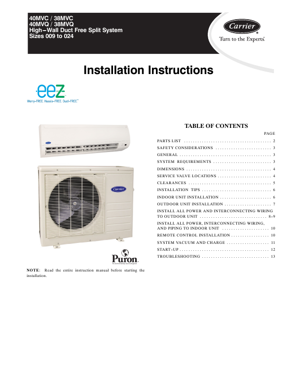 CARRIER AIR CONDITIONERS AT BIZRATE