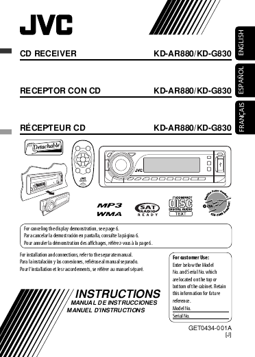 search jvc jvc universal remote user manuals manualsonline com rh tv manualsonline com jvc kd-bt11 installation manual JVC Owner's Manual