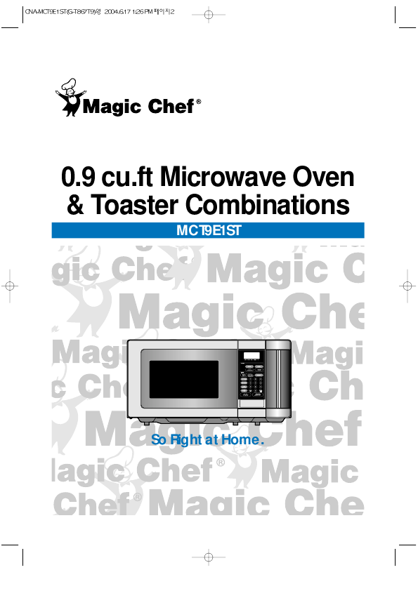 Search Magic Chef Convection Microwave Oven User Manuals