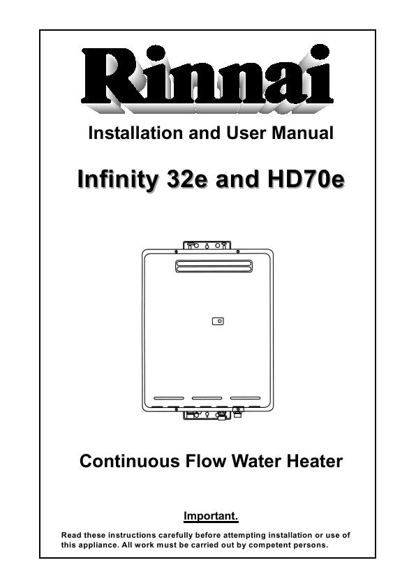 Rinnai tankless water heaters reviews are definitely your first stop when you go shopping for a Rinnai water heater. Because these heaters are different from