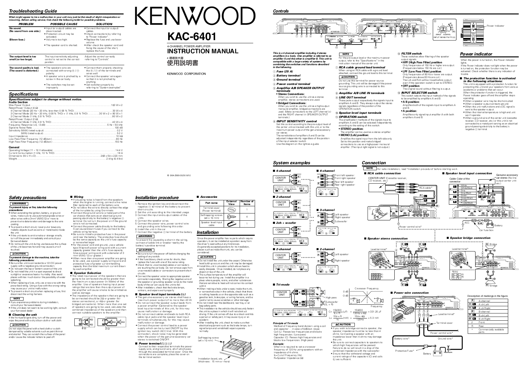 Free Kenwood User Manuals | ManualsOnline.com