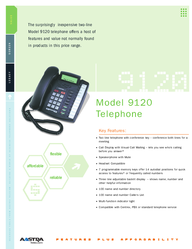 aastra telecom telephone 9120 user s guide manualsonline com aastra phone manual 6755i aastra phone manual nt4x41ca