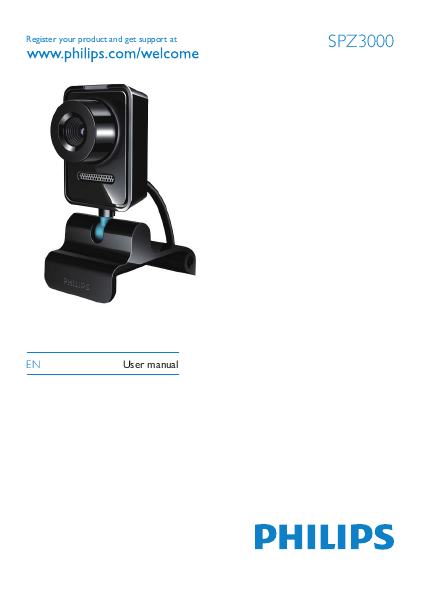 Philips Webcam User Manual