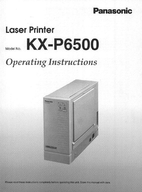 Panasonic kx p7100