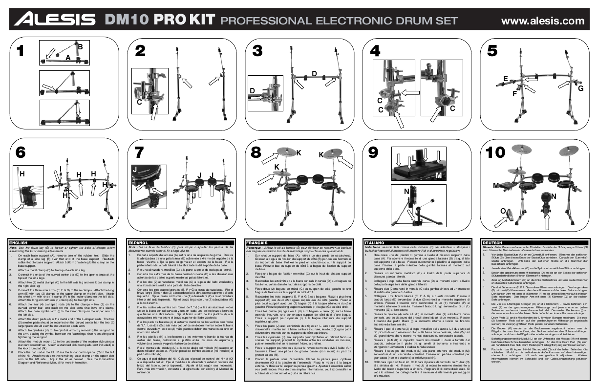 Dm7 Manual Auto Electrical Wiring Diagram 1984 Rx7 Engine Alesis Drums Dm10 User U0026 39 S Guide