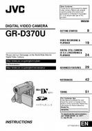 JVC Digital Video Camera Instructions