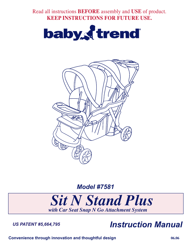 Search Baby Trend User Manuals Manualsonline