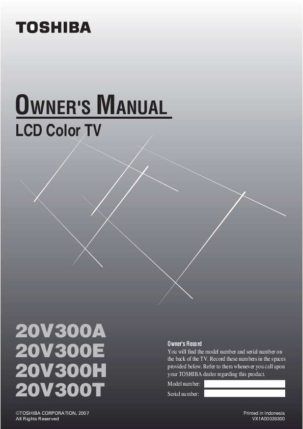 search toshiba toshiba lcd front projector user manuals rh tv manualsonline com