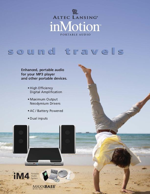 altec lansing inmotion im500 manual