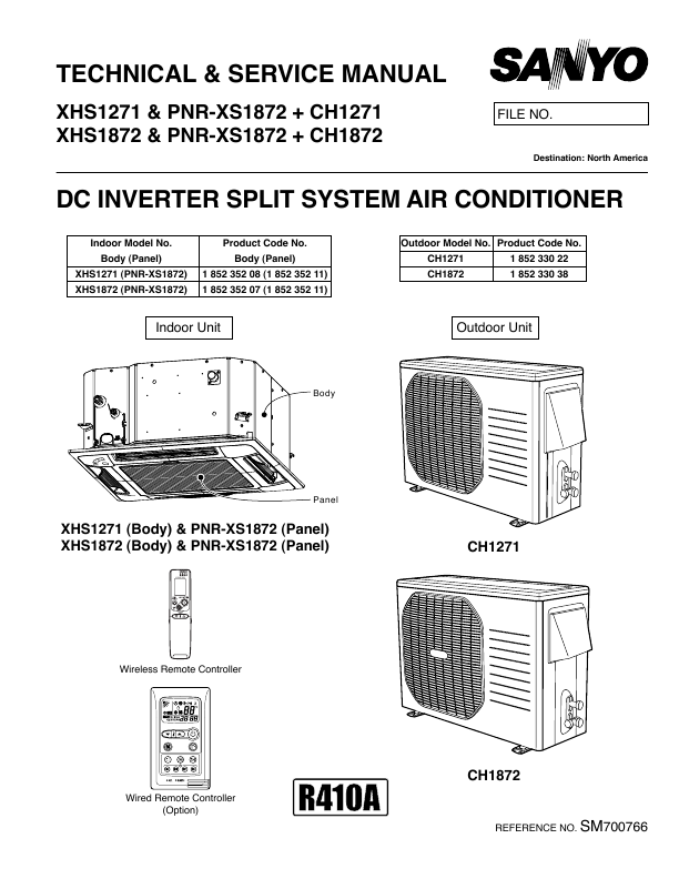 sanyo air conditioner xhs1271 user s guide manualsonline com sanyo air conditioner service manual sanyo room air conditioner owner's manual