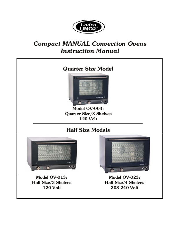 free convection oven user manuals manualsonlinecom party. Black Bedroom Furniture Sets. Home Design Ideas