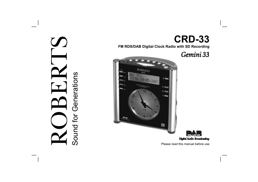 roberts digital clock radios. Black Bedroom Furniture Sets. Home Design Ideas