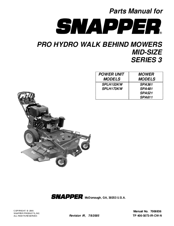 search snapper snapper zero turn riding mower user manuals rh manualsonline com Example User Guide Quick Reference Guide