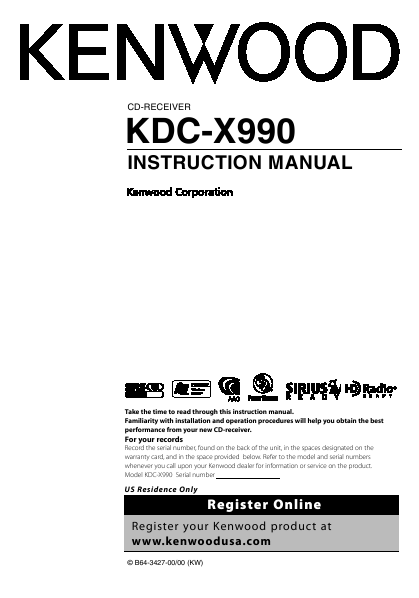 search kdc user manuals manualsonline com rh camera manualsonline com Kenwood Car Audio Dash Unit Kenwood Receiver Manual