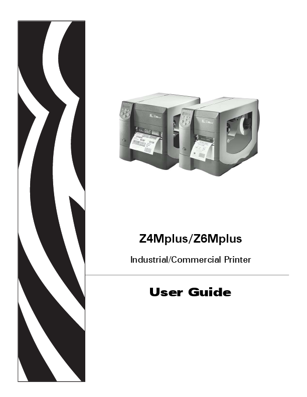 Additional Zebra Technologies Zebra Z Series Z4Mplus Printer ...