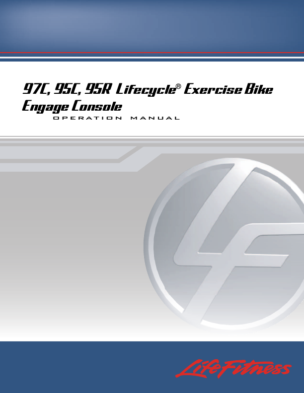 life fitness g7 exercise manual