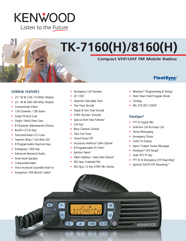 search two way radio user manuals manualsonline com rh manualsonline com Kenwood Two-Way Radio Accessories kenwood tk-3402u16p two-way radio manual