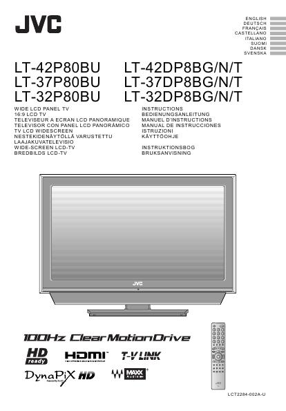 search jvc jvc lcd hdtv user manuals manualsonline com rh tv manualsonline com JVC LCD TV Manual JVC DivX Manual