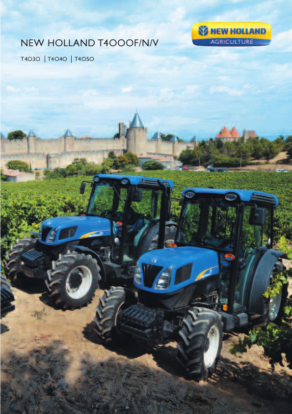 Commercial and Residential Mowers-Lawn Tractors-NEW HOLLAND-Creel