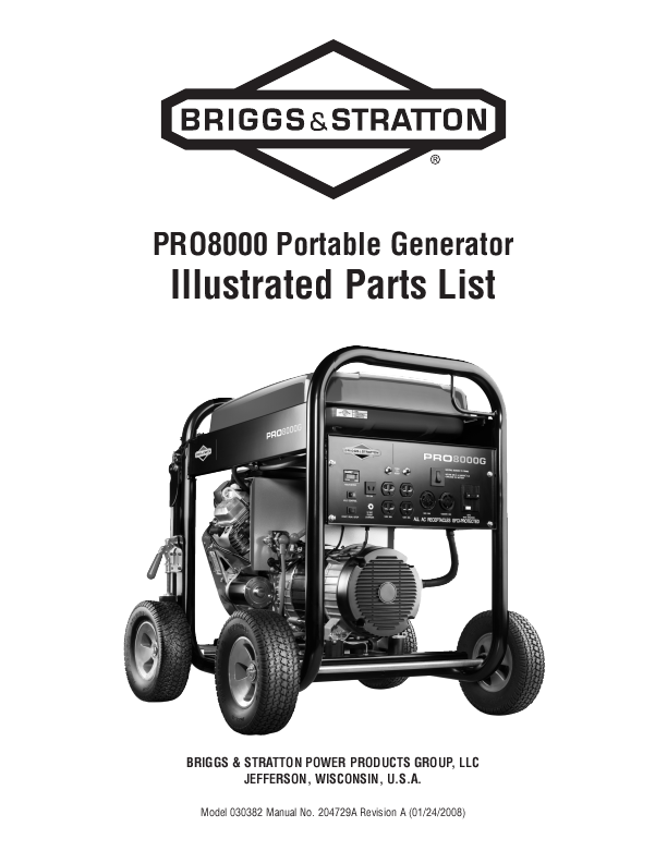 ... - Briggs And Stratton Generators Parts Manual | woodworking classes