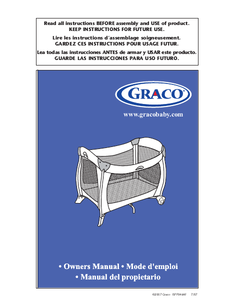 Search Graco Graco User Manuals Manualsonline