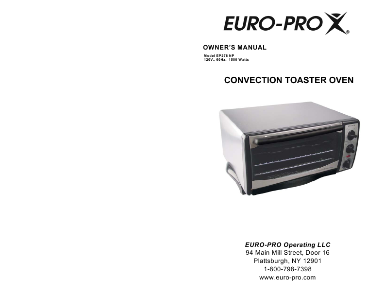 Image Result For Toaster Oven Euro Pro