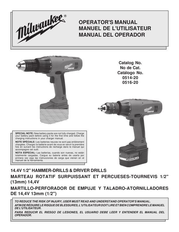 Free Milwaukee Hammer Drill help, support