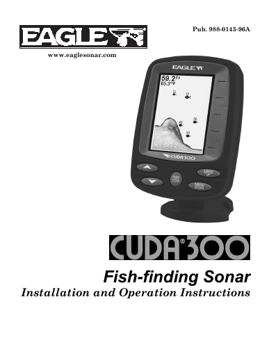 Eagle Fishfinder 480 Manual