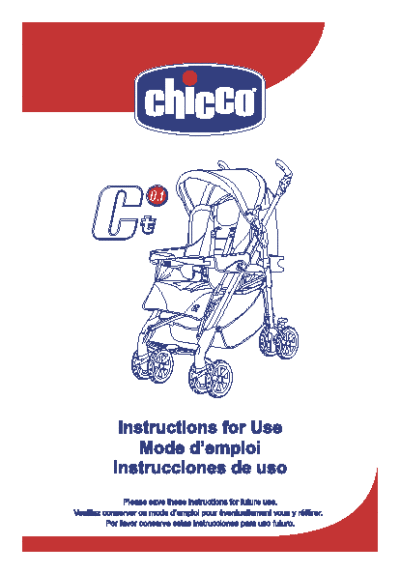 chicco car seat instructions