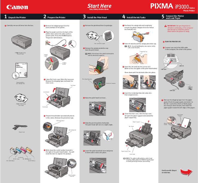 Инструкция canon ip 3000 скачать