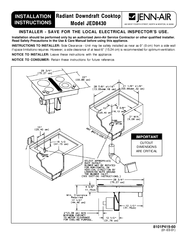 Wire diagram for jenn air jed 8430