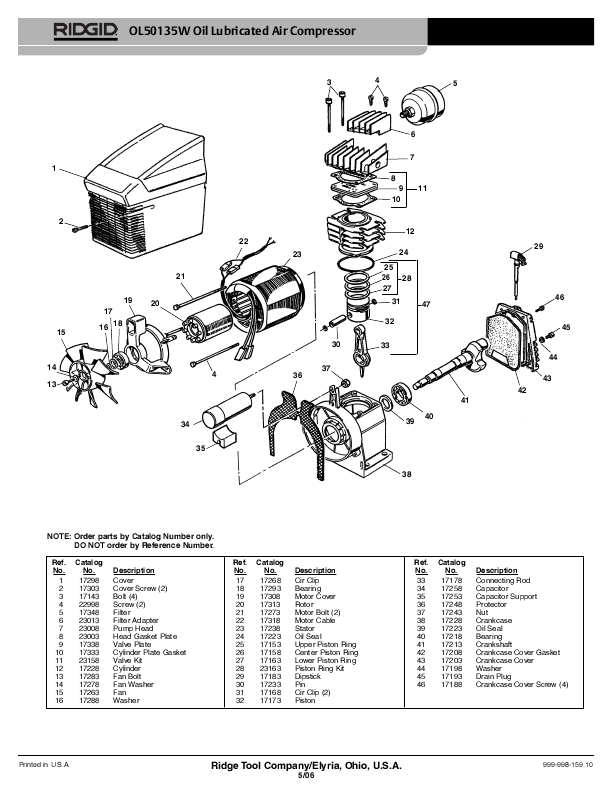 Craftsman Pressure Switch Diagram