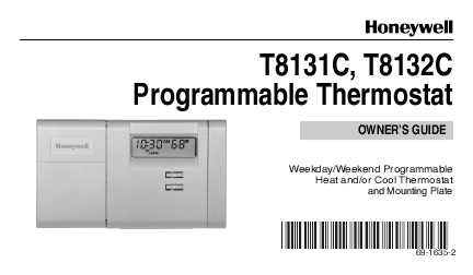 honeywell programmable thermostat manual pdf honeywell wiring diagram free