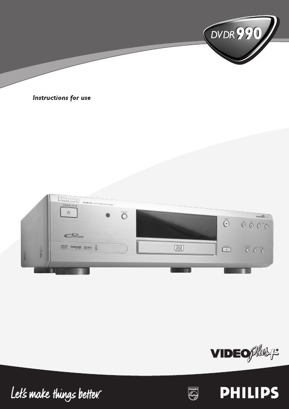 search philips dvd recorder user manuals manualsonline com rh tv manualsonline com Philips DVD Recorder Troubleshooting Philips DVD Recorder Hard Drive
