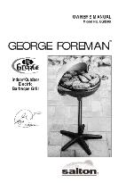 George Foreman Grill GGR50B OWNER'S MANUAL