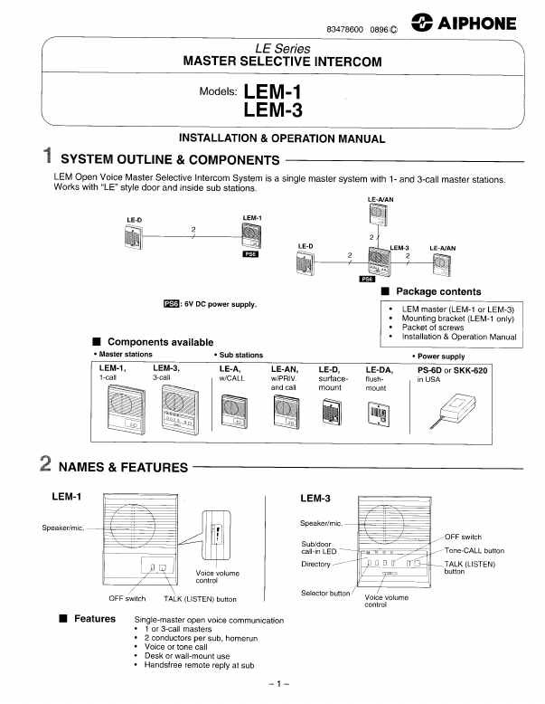search electronic gaming user manuals manualsonline com rh portablemedia manualsonline com Aiphone LEM- 3 Aiphone Intercom Products
