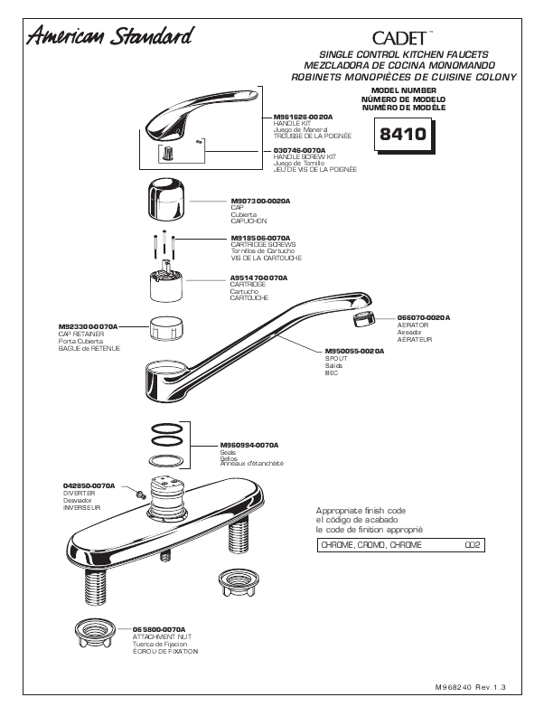 american standard faucet parts faucets reviews plumbingwarehouse com american standard commercial