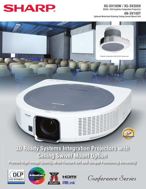 search sharp sharp projector user manuals manualsonline com rh manualsonline com Sharp DT 500 Manual Sharp Projector Troubleshooting