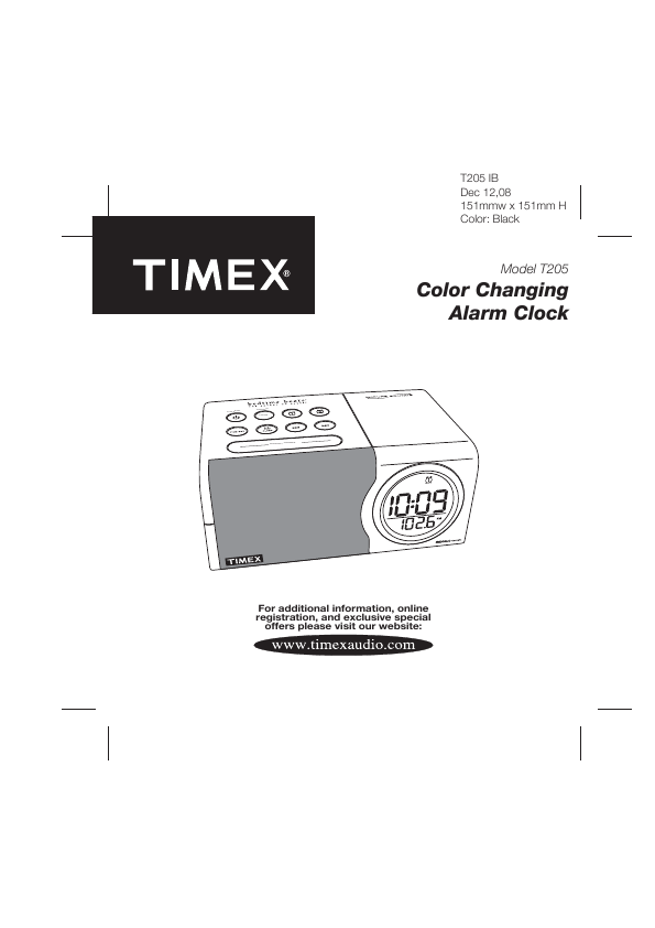 search timex t235p type tip ct tip user manuals manualsonline com rh manualsonline com Timex Indiglo Radio Manual timex t621 manual