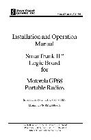 motorola Installation and Operation Manual Portable Radio GP68