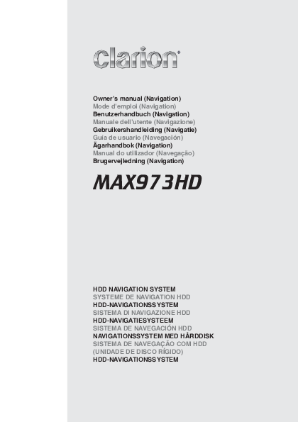 search clarion user manuals manualsonline com rh tv manualsonline com American Yard Products Manuals Computer Instruction Manual Example