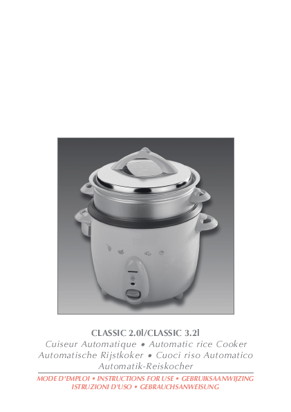 Search Cooker User Manuals Manualsonline