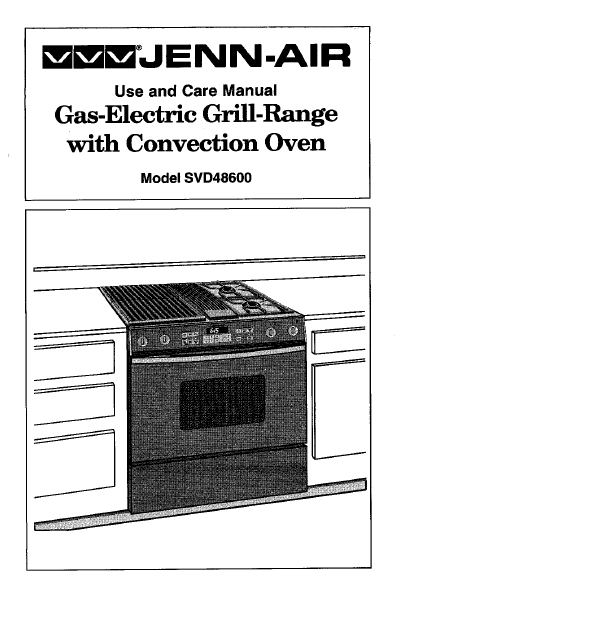 for Jenn-Air SVD48600 Kitchen 2011
