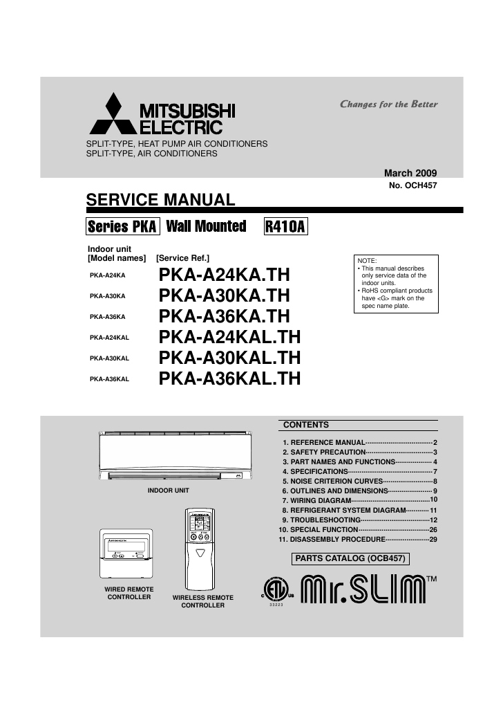 search manuals user manuals manualsonline com rh music manualsonline com 1991 Mitsubishi Montero Wiring-Diagram Mitsubishi Ductless Split Systems